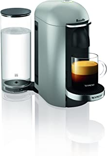 Breville-Nespresso USA BNV420SIL1BUC1 VertuoPlus Coffee and Espresso Machine, Silver