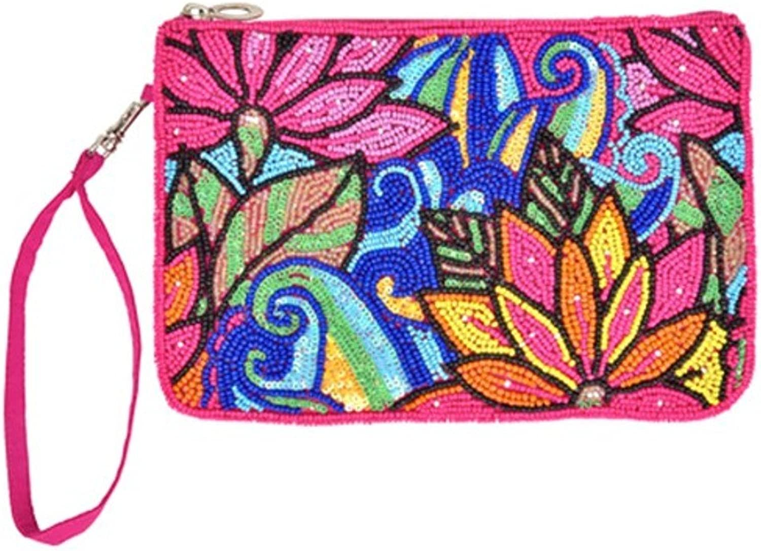 Bamboo Trading Company Clutch, Lotus Collage