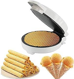 Máquina de rollo de helado, bandeja de hornear antiadherente, máquina de cono de helado, máquina crujiente del desierto, r...