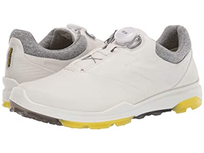 ECCO Golf Biom Hybrid 3 Boa (White/Canary) Women