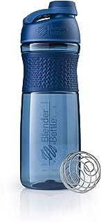 Blender Bottle C03215 SportMixer Twist Cap Tritan Grip Shaker Bottle, 28-Ounce, Navy