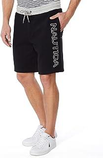Nautica Men's Fleece Logo Shorts