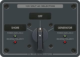 Blue Sea Systems 661-9001E Interruttore Batteria Serie E 1//2//Both//Off