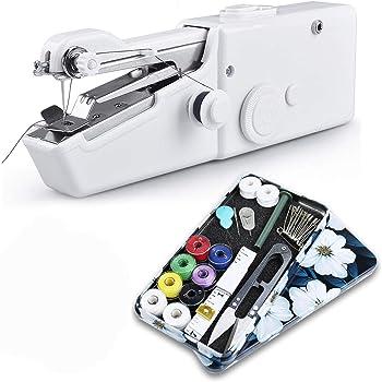 ハンディミシン Zerotone【最新型】ハンドミシン 片手で縫える電動ハンドミシン 【簡単操作】【わかりやすい日本語説明書付き】【裁縫セット付き】