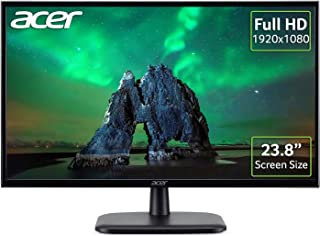 Acer EK240YAbi 24 Inch Full HD Monitor (IPS Panel, 5 ms, HDMI, VGI, Black)