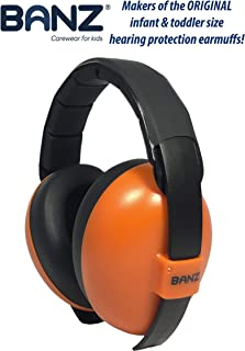Banz Mini Earmuffs, Orange