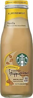 Starbucks Almond Milk Frappuccino, Vanilla, 13.7 Fl Oz