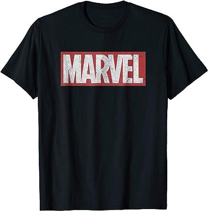 Marvel Classic Distressed Logo Graphic T-Shirt
