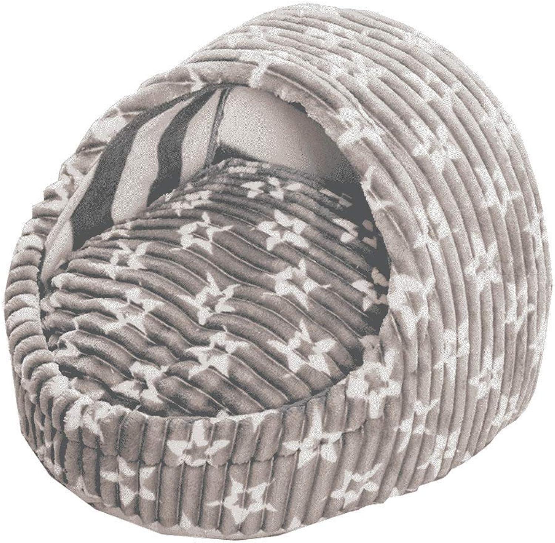 Cat Nest Winter Warm Four Seasons Universal Dog Bed Teddy Pet Supplies House Villa WHLONG