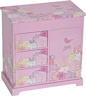 Mele Designs Jewelry Box Poppy Girl's Musical Ballerina Jewelry Box (Renewed)