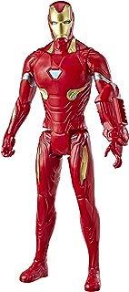 "Avengers Marvel Endgame Titan Hero Series Iron Man 12""-Scale Super Hero Action Figure Toy with Titan Hero Power Fx Port"