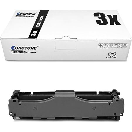 3x Eurotone Toner Für Canon I Sensys Mf 724 726 728 729 8330 8340 8350 8360 8380 8540 8550 8580 Wie 718bk Crg 718bk Black Bürobedarf Schreibwaren