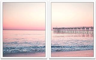 Set of 2 Costa Rican Beach Prints Printable Wall Art Modern Decor Digital Download Bundle of 2 Beach Prints