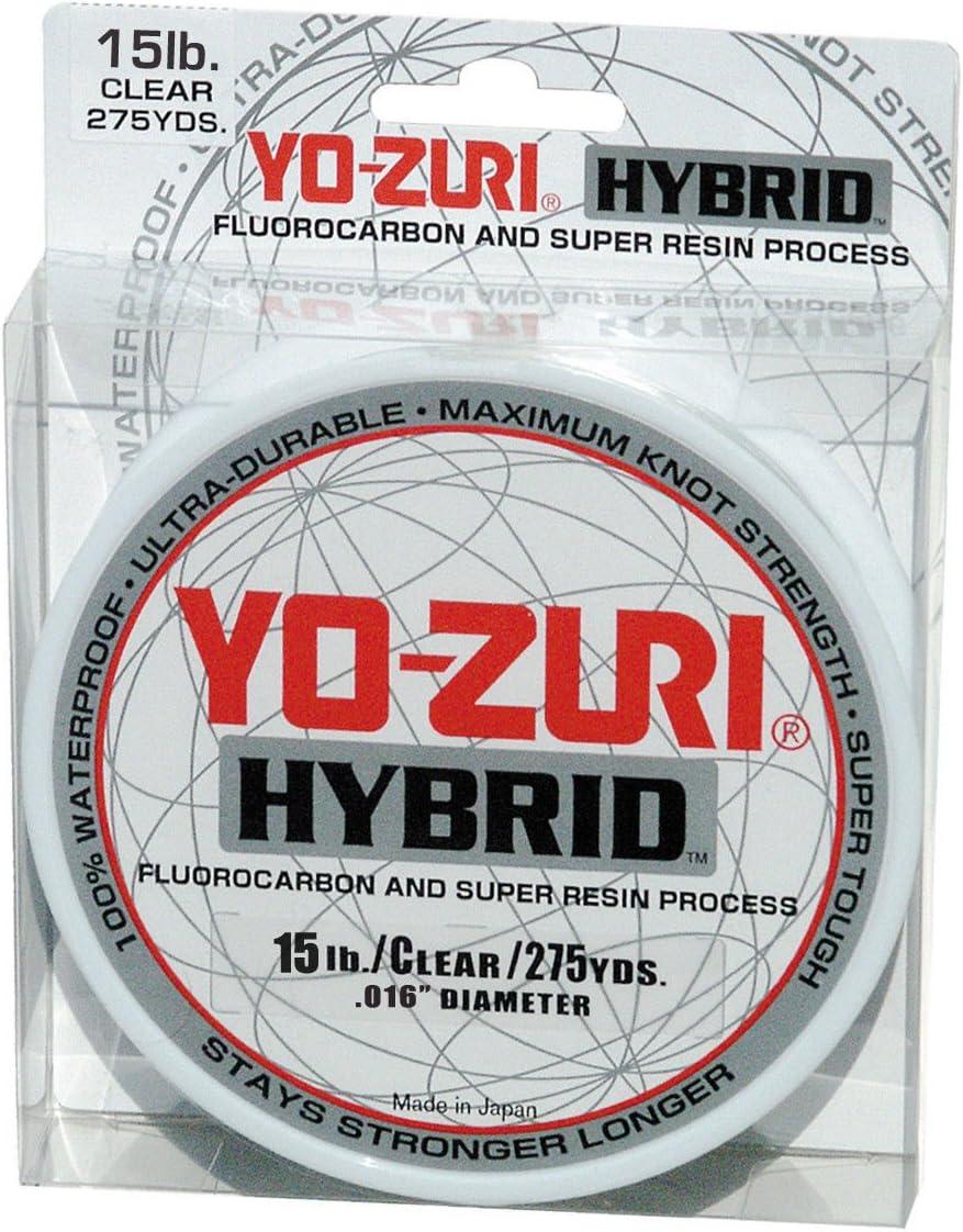 Yo-Zuri 275-Yard Hybrid Monofilament Credence excellence 15-Pou Line Clear Fishing
