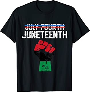 Juneteenth Shirt Black History American African Freedom...