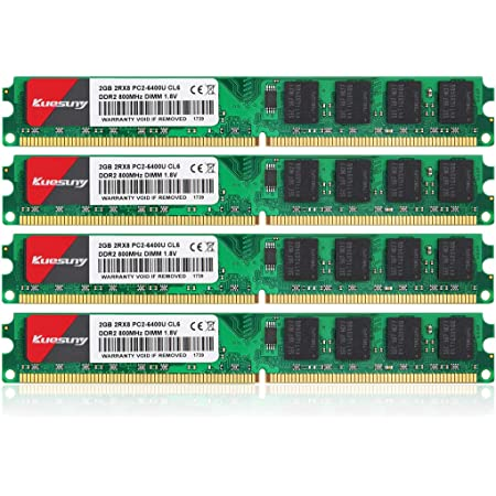 DDR2-667 PC2-5300 RAM Memory Upgrade Kit for The Acer Aspire AS7730-4868 4GB 2x2GB