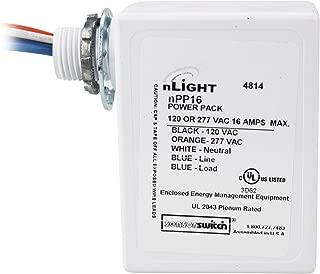 Sensor Switch Lighting Acuity NPP16 nLight Power Pack 120/277/347 Volt AC Input, 15 Volt DC Output