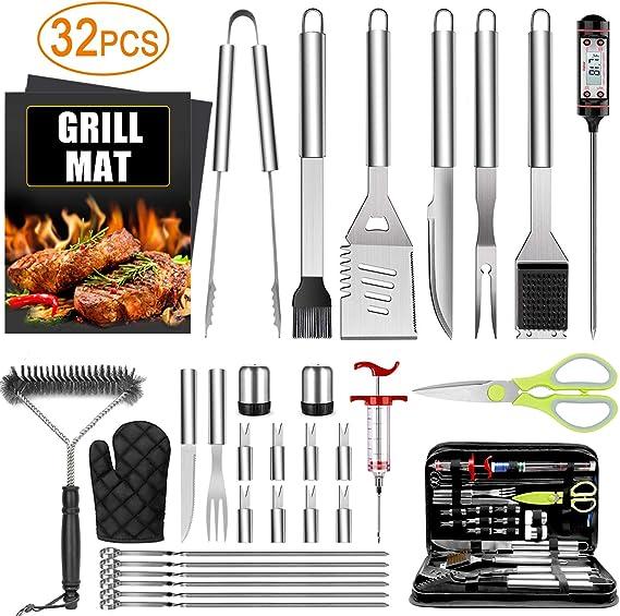 32PCS BBQ Grill Accessories Tools Set