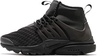 Nike Women's WMNS Air Presto Mid Utility PRM, Black/Black-White, 9 M US