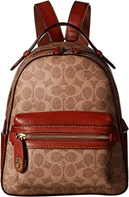 644e9e3d4e5c Campus Backpack 23 in Coated Canvas Signature