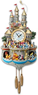Bradford Exchange Disney Cuckoo Clock Has 43 Characters Lights Music And Motion