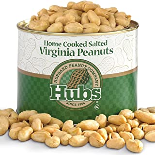 Hubs Salted Virginia Peanuts 2 Pack of 40oz Cans