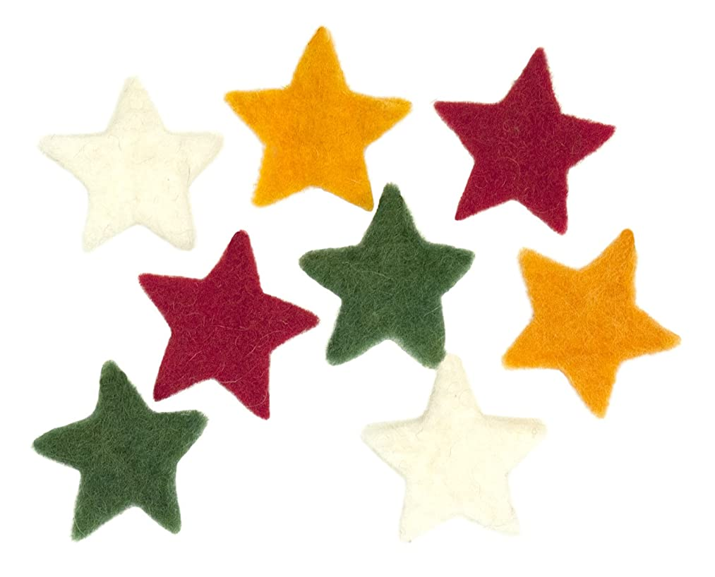 Dimensions Needle Felting Embellishments, Small Stars