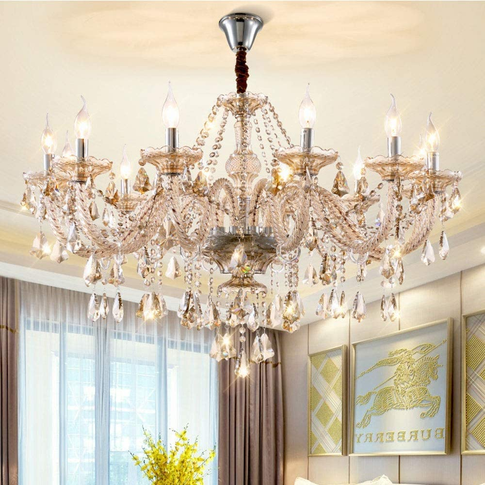 Kactera 12-Lights Don't miss the campaign E14 Exquisite Candle Pendant Luxurious Lamp Popular K