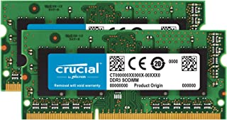 Crucial 16GB Kit (2x8GB) Mac Memory Ddr3l-1600 CT2K8G3S160BM