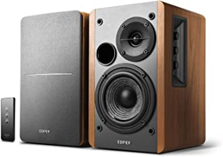 Edifier R1280T Powered Bookshelf Speakers - 2.0 Active Near Field Monitors - Studio Monitor Speaker - Wooden Enclosure - 4...