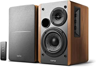 Edifier R1280T Powered Bookshelf Speakers – 2.0 Active Near Field Monitors –..