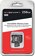 MyMemory PRO 256GB Micro  SDXC  Ultra-HD V30 UHS-1 Ultra-Fast Memory Card microSDXC Adapter 100MB s