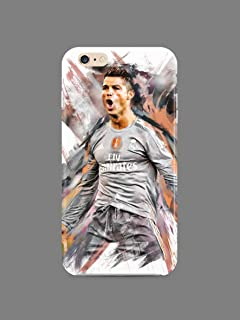 Hard Case Cover with Ronaldo Cristiano, CR7, Professional Football Player Design Compatible with iPhone 5 5s SE (ron1)