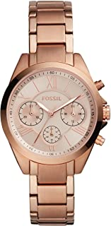 FOSSIL Modern Courier Stainless Steel Band Analog Watch for Women - Rose Gold