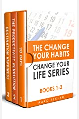 The Change Your Habits, Change Your Life Series: Books 1-3 (Change your habits, Change your life Box Set Book 1) (English Edition) eBook Kindle