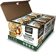 Kitchen & Love Artichoke & Roasted Peppers Quinoa Quick Meal 6-Pack | Vegan, Gluten-Free, Ready-to-Eat, No Refrigeration R...