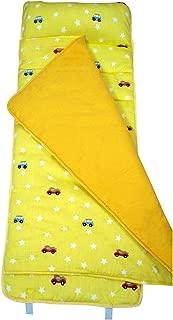 SoHo Toddler Cotton Nap Mat, Cars Yellow
