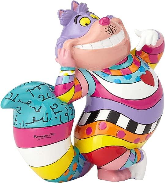 Enesco Disney By Britto Cheshire Cat Mini 3 5 Stone Resin Figurine