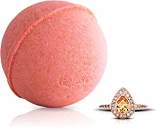 Fragrant Jewels Pink Champagne Bath Bomb with Collectible Ring (Size 5-10)