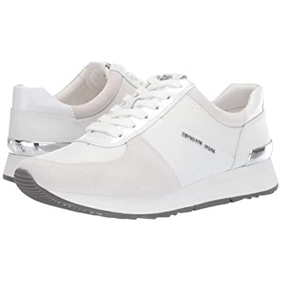 MICHAEL Michael Kors Allie Trainer (Optic White Vachetta/Tech Canvas/Sport Suede) Women