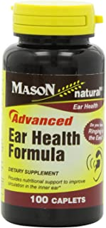 Mason Natural Vitamin Advance Ear Health Formula Caplets, 100-Count Bottle