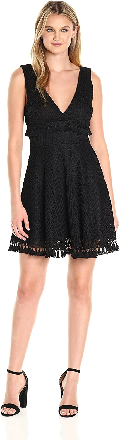 Ali & Jay Womens Kiss Me in The Candlelight Deep V Dress Dress