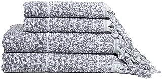 IVY LUXURY BATH ESSENTIALS Hitit Towel Set of 4