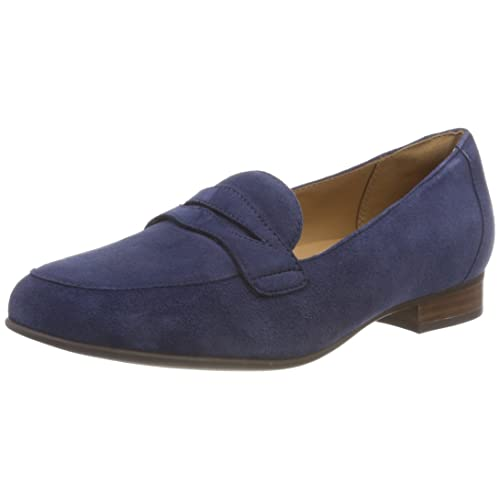7aa0d846bdc30 Ladies Navy Loafers: Amazon.co.uk