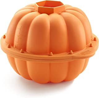 Lekue Pumpkin 3D Mould Silicone, Orange, 1400100N02M017