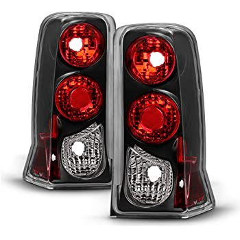 Black 2002-2006 Cadillac Escalade Tail Lights Lamps Left+Right 02 03 04 05 06