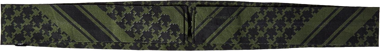 ZANheadgear Cooldanna 100 Percentage Cotton Head and Neck Tie (Black): Automotive