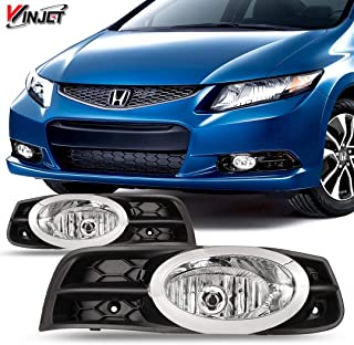 Best 2012 civic coupe fog lights Reviews