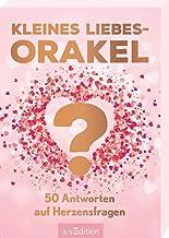Kleines Liebesorakel: 50 Antworten auf Herzensfragen | Schön gestaltete Orakelkarten in Geschenkbox