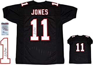 Julio Jones Autographed SIGNED Jersey - JSA Authentic - Black